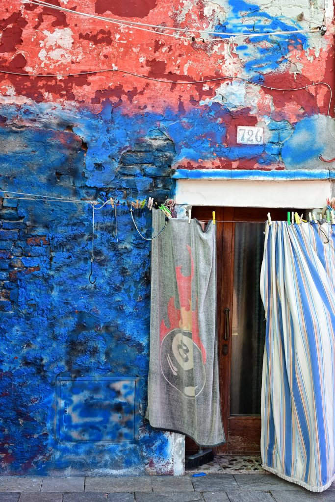 Burano, Colourful Doorway, Italy, Nikon Z 7 and Z 24-70mm f/4 S.  f7.1 - 1/250th sec - 64 ISO