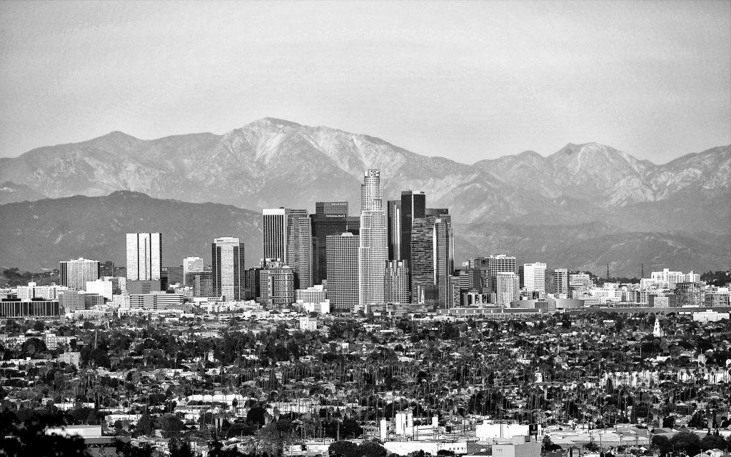 LA Skyline, Los Angeles, Skyline