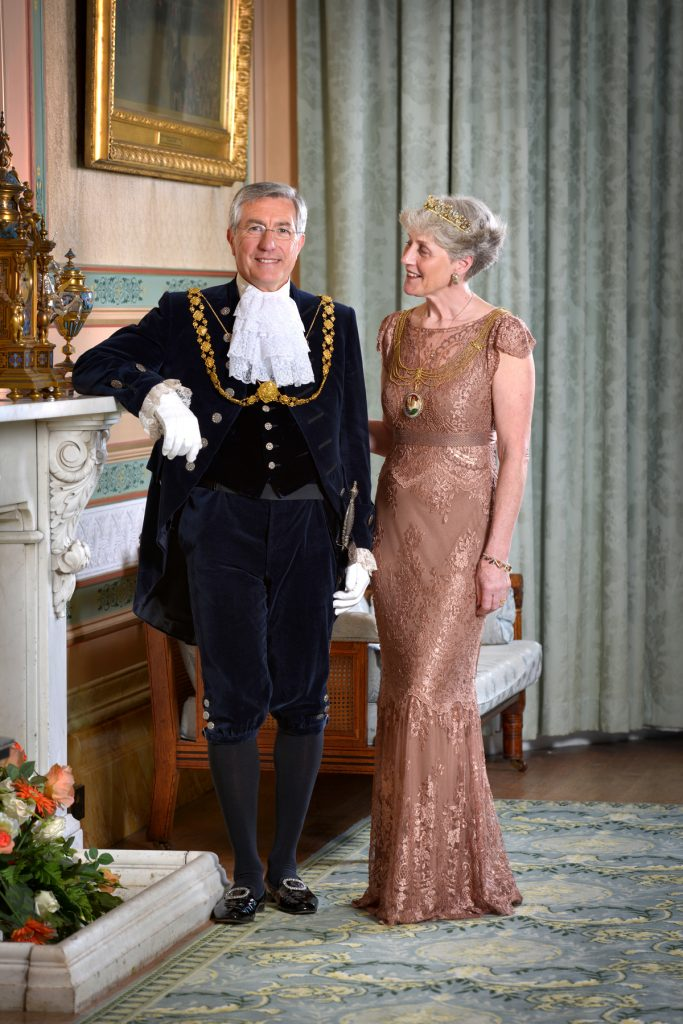 Lord and Lady Mayor of Bristol.